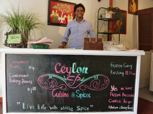 Sudeera Gangodage and his wife Manoja recently opened Ceylon Cuisine & Spices on Duncan Avenue, one of two new downtown businesses.