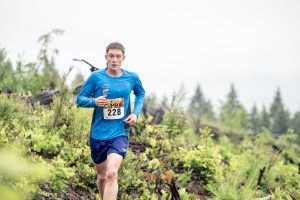16-year-old Torin Halvorson finished third overall in the inaugural running of The Cumby, a 20-km. trail run in Cumberland.