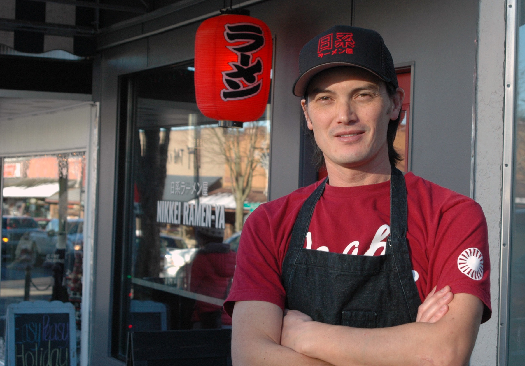 Greg Masuda, Co-owner Of The Nikkei Ramen-Ya On Fifth Street, Is Just One Of Several New Business Owners Injecting An Urban Vibe Into Downtown Courtenay.