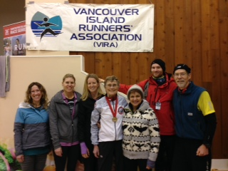 Members Of The Comox Valley Road Runners Impressed At The Recent Pioneer 8k In Saanichton.