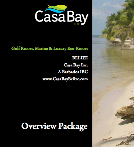 Brochure copy: Casa Bay