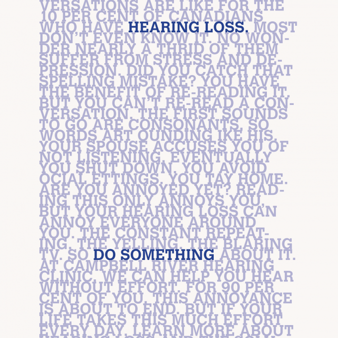 CRHC Can You Read This ad